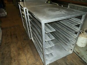 1 2 Size Bun Pan Rack Will Hold 6 Full Size Sheet Pans 6 Available Used