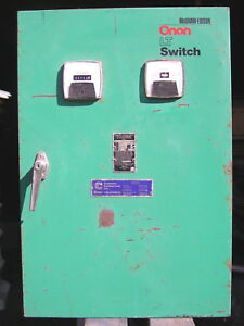 Onan Generator Emergency Transfer Switch Automatic 60a Lteu60 4 14706e