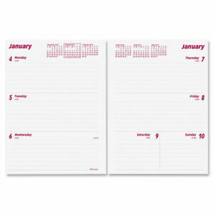 Brownline Refillable Weekly Planner Weekly Monthly 1 Year January 2016