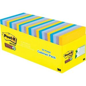 Post it New York Collection Post it Super Sticky Notes 3 X 3 Square 90