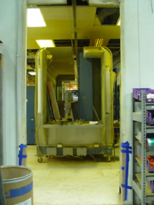 Nordson Automatic Reclaim Powder Booth