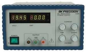 Bk Precision 1665 1 19 99v 9 99a Switching Dc Power Supply New