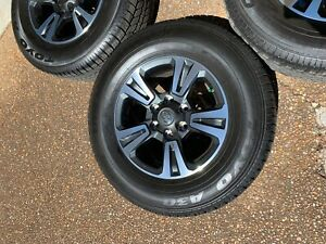 17 Toyota Tacoma Oem Wheels Rims Tires 2015 2016 2017 2018 2019