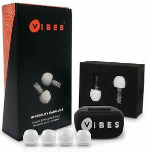 Vibes High Fidelity Concert Earplugs Hearing Protection Ear Plugs Noise Reduct