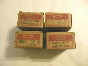 1940 Ford 60 Hp Engine Connecting Rod Bearings 0 010 Us Federal Mogul Nosr