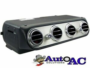 Add On Under Dash A C Evaporator With 4 Round Vents 1965 1966 1967 1968 Mustang