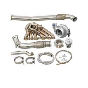 Cxracing 2jzgte Single Turbo Manifold Oil Line Kit For Mazda Rx7 Fc Swap