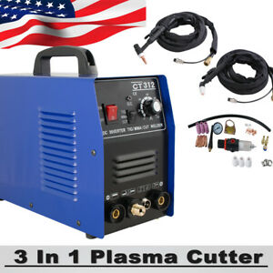3in1 Multi Tig Mma Air Plasma Cutter Cutting Welder Welding Machine Ct 312