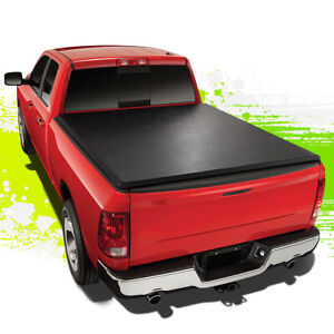 For 02 09 Dodge Ram Truck 6 5 bed Soft Tri fold Tonneau Cover 03 04 05 06 07 08