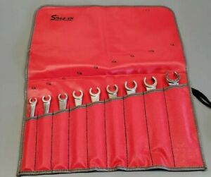 Snap On Blue Point And Par X Flare Hydraulic Tubing Brake Line 9 Wrench Set Rare