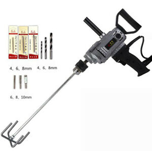 220v Electric Cement Mixer 3 16mm Chuck Electric Portable Drill Y