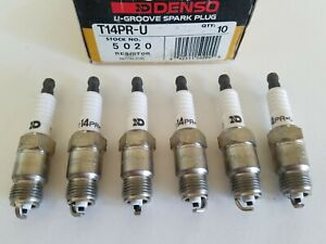 Denso Spark Plug Set Of 6 Checker Gm 4 1 250 Engines Chrysler 3 7 225