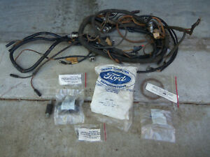 1948 Ford Parts Lot