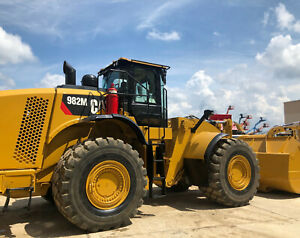 2016 Caterpillar 982m Wheel Loader 5 340 With 6 Month Extended Warranty