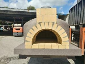 Wood Fired Pizza Oven 35 Fire Brick Oven Insulated