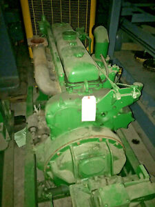 Winch Drive Power Unit With A Detroit Diesel 6 71 id 455