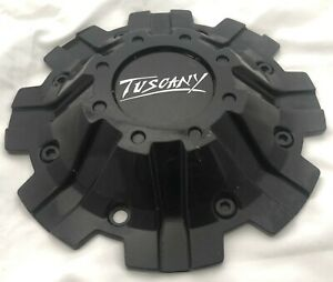 Tuscany Matte Black Wheel Center Cap Qty 1 C800mb T2 C816103cap