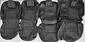 Fits Mazda 2010 2013 3isv Itouring Isport 4dr Black Leather Upholstery Seat Set