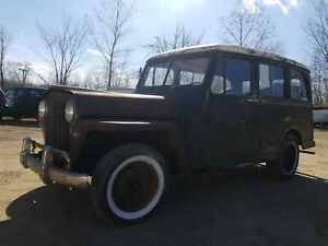 1946 Willys Jeep Wagon Rolling Chassis