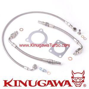 Kinugawa For Hyundai Genesis Turbo Oil Water Line Kit Install Kit Td04l