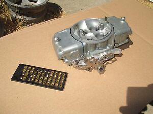 Alky Barry Grant Race Demon 40 Ot 750 Cfm Carburetor Carb Drag Holley Alcohol