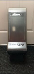 Tork Xpressnap Napkin Dispenser With Stand Abs Plastic Clear Black Color