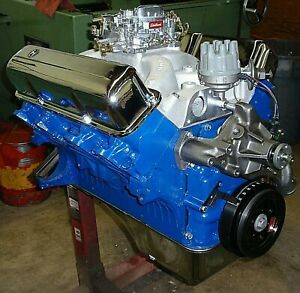 Ford Big Block 390 Fe 430 Horse Crate Engine Pro Built New 360 408 427 428