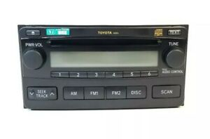 Toyota Matrix Radio Cd Player Fit 03 04 05 06 07 08 A51816 86120 02400