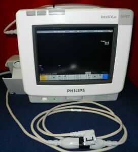 Philips Intellivue Mp5t Patient Monitor Mp5 W predictive Temp Module M8105 6