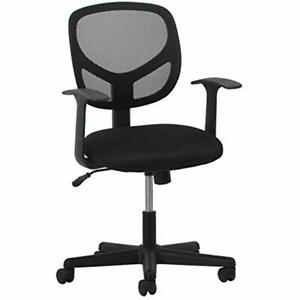 Essentials Swivel Mid Back Mesh Task Chair With Arms Ergonomic Computer office