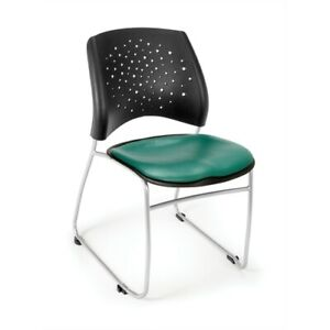 Stars Stack Vinyl Chair Teal