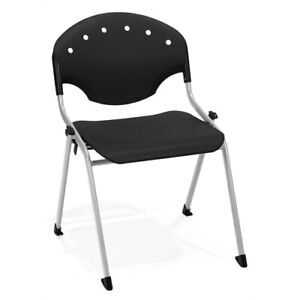 Rico Stack Chair Without Arms Black