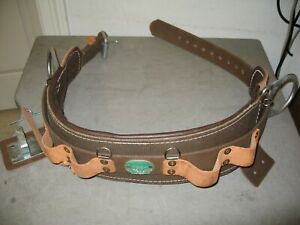 Buckingham Linemans Safety Climbers Tree Climbing Belt Size 24