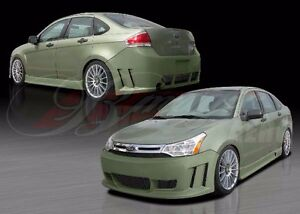 2008 2010 Ford Focus Max Style Full Body Kit By Ait Racing Front Rear Sideskirts