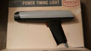 Proto Model Ptl 10 Vintage Timing Light New
