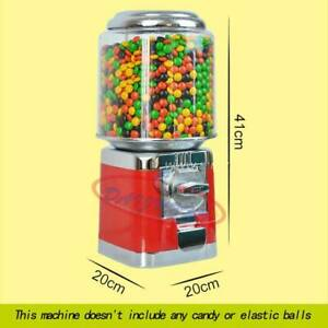 Red Bulk Vending Gumball Candy Dispenser Machine Wholesale Vending Products