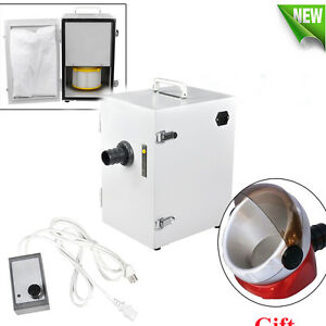 Usa Dental Digital Single row Dust Collector Collecting Vacuum Cleaner Equipment