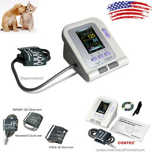 Veterinary Blood Pressure Monitor For Cat dog animal pc Software 3 Cuffs Contec