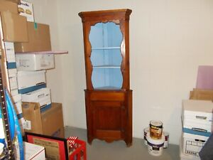 Antique Wooden Corner Cabinet