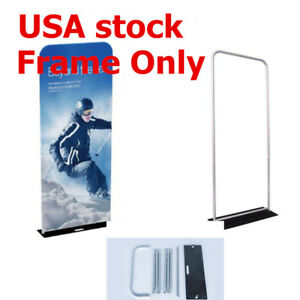 Usa 3ft 25mm Aluminum Tube Exhibition Booth Tension Fabric Display frame Only