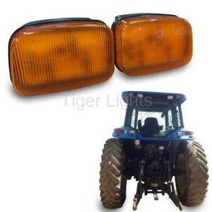 Led Ford New Holland Amber Cab Light tl7015l Left oem 86507530
