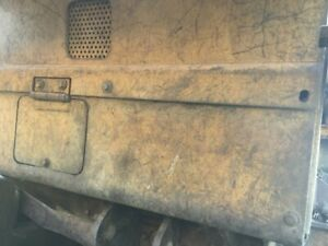 1989 Cat 953 Bracket Panel Steel Lower Front Cover