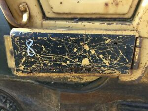 1989 Cat 953 Right Panel Cover Hinged Inspection Access