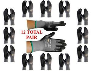 G tek Maxiflex 34 874 Pip Seamless Knit Nylon Gloves 12 Pairs Choose Size