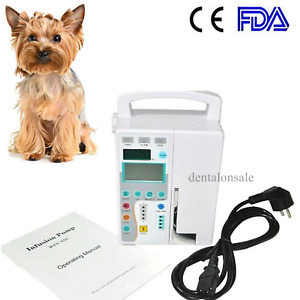 Ce Veterinary Infusion Pump Iv Fluid Infusion Have Audible And Alarm For Vet Use