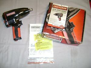 Craftsman 1 2 Impact Wrench Air Tool Gun 19983 New W Box 400 Ft lbs