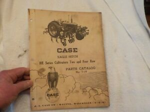 Case Eagle Hitch He Series Cultivators Two And Four Row Parts Cat No 718