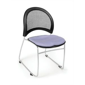 Moon Stack Chair Blue