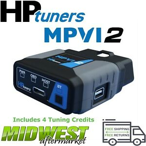 Hp Tuners Mpvi2 Vcm Suite Standard W 4 Credits For Ford Gm Dodge Chrylser