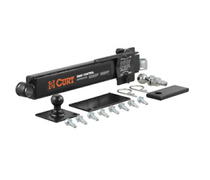 New Curt 17200 Adjustable Trailer Mounted Hitch Sway Stabilizer Control Kit Unit